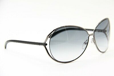 4acbe8d730ce2 New Tom Ford Tf 158 08B Clemence Gunmetal Authentic Sunglasses 65-13 W case