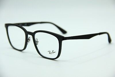 1379148cb8 New Ray-Ban Rb 7117 5196 Black Eyeglasses Authentic Frame Rx Rb7117 52-19
