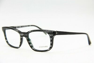 dd9ea5ebd9 New Alain Mikli A 03039 0299 Black Eyeglasses Authentic Rx A03039 50-19 W