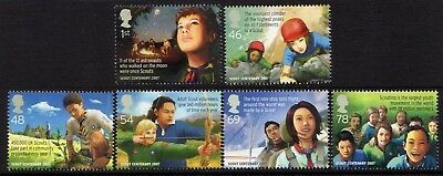 "Gb. 2007. ""europa. Centenary Of Scouting"". 1 Set Of 6 Stamps. Mnh."