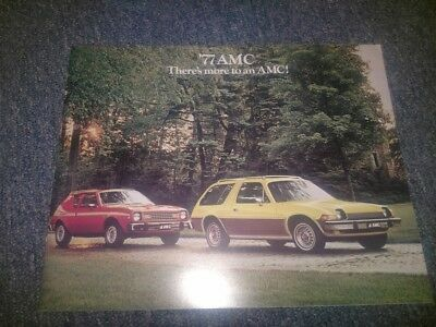 1977 AMC Dealer Brochure, NOS, RARE, Pacer, Gremlin, Original Literature