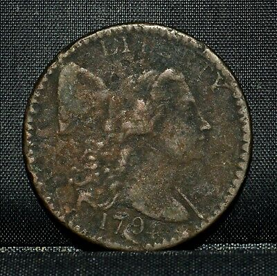 1794 Large Cent ✪ Vf Very Fine ✪ 1C Flowing Hair L@@k Now Details H23 ◢Trusted◣