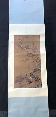 Chinese Scroll Painting Reproduction Wall Art - Ren Ren Fa from Yuan Dynasty