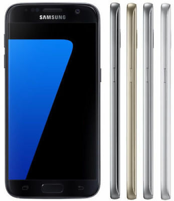 Samsung Galaxy S7 32GB G930T Unlocked GSM 4G LTE Android Smartphone (Shadow LCD)