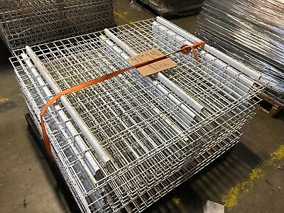 """Pallet Rack Wire Mesh Deck 47 3/8"""" x 42"""" White, 12 Available, Used"""