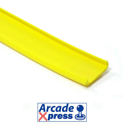 Perfil U Molding Canto Couvre Chant 16mm Bartop Amarillo Yellow Arcade Cabinet