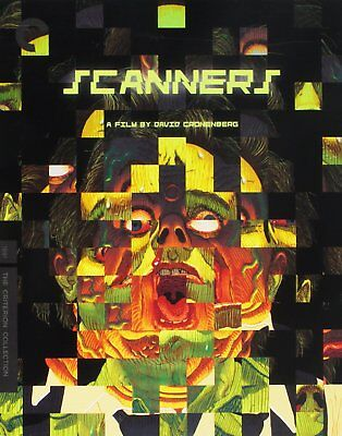 Scanners Criterion Collection Blu-ray