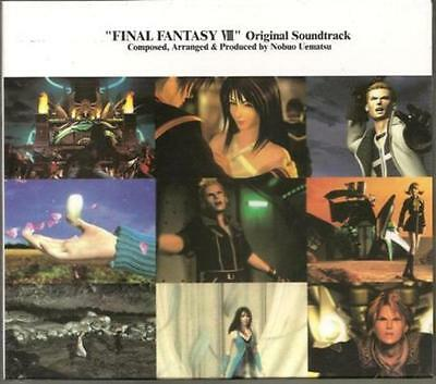 MICA-0075-8 Final Fantasy VIII Original Soundtrack Miya Records 4CD