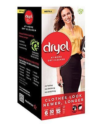 Dryel Dry Cleaner Refill Kit 8 count (Pack of 3)