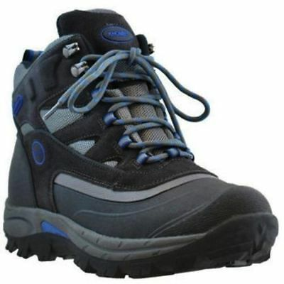 29d7ee876ba NEW KHOMBU MENS' Grey/Blue Thermalite Waterproof Hiking Boots Size 8
