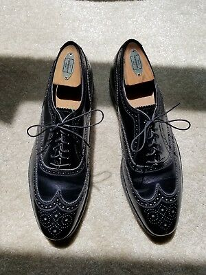 Florsheim 92329 Imperial Black Dress Bal Wingtip Size 11.5 D