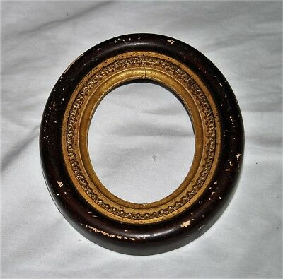 """Antique oval picture frame 6.5"""" x 5.5"""""""