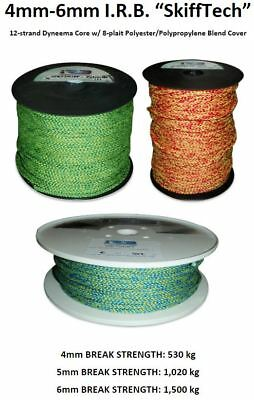 4mm-6mm SkiffTech Dyneema Core w/ 8-Plait Cover Boat Sailing Rope **PER METRE**