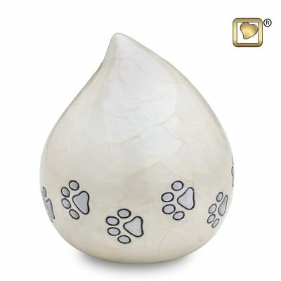 Love Drop Pet Urn - Pearl