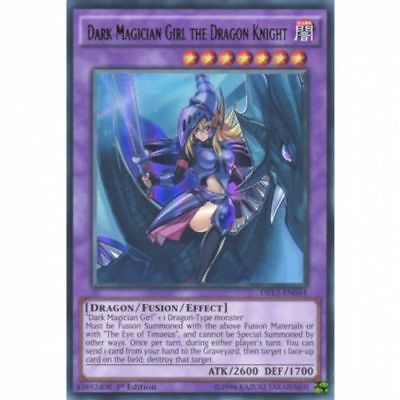 Dark Magician Girl The Dragon Knight - DRL3 EN044 - Ultra Rare - FREE SHIPPING