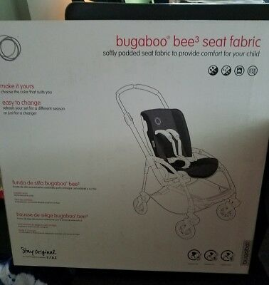 New Bugaboo Bee3 Seat Fabric in Softly Padded Red