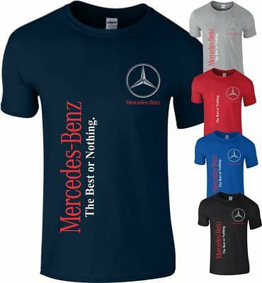 Mercedes Benz T Shirt Motorsport F1 Racing MotoGP Best Fan Mens Top