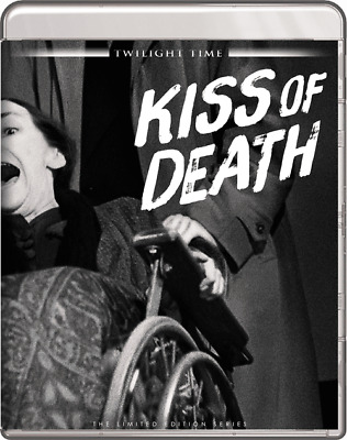 KISS OF DEATH (Blu-Ray) Twilight Time, Film Noir, Richard Widmark  NEW+FAST SHIP