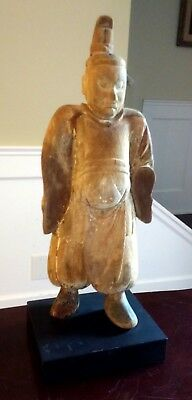 Ancient Shrine Figure - JAPAN - Probably Heian Period 794–1185 AD