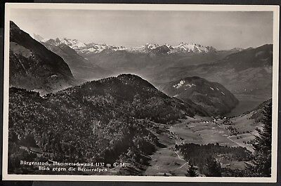 Switzerland 1950's Postcard, the Burgenstock, unused