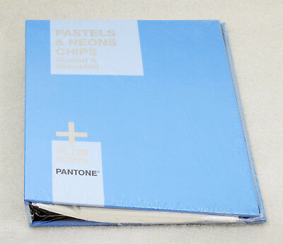 Pantone Pastels & Neons Chips Book Coated & Uncoated GB1504 NEW