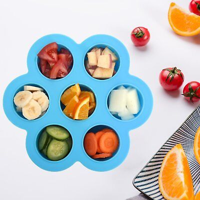 Baby Weaning Food Freezing Tray Pots Freezer Storage Lid Containers Homemade New
