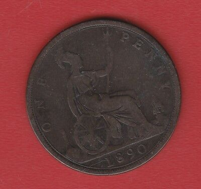 Great Britain 1 Penny 1890