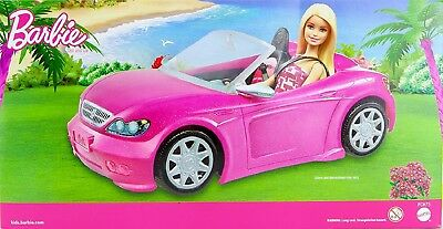Barbie Glam Convertible Pink Convertible and Barbie Doll