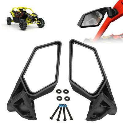 Racing Side Mirrors Set For Can-Am Maverick X3 Off-road 2017 2018