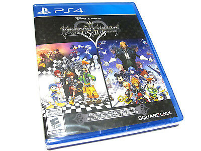 Kingdom Hearts HD 1.5 + 2.5 Remix (PlayStation 4) I.5 II.5 PS4 - NEW!