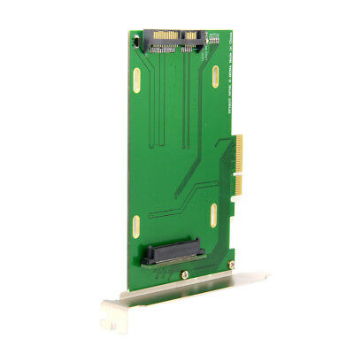 PCI-E 3.0 x4 Lane to U.2 Kit SFF-8639 Host Adapter for Intel MB & SSD NVMe PCIe