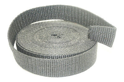 25mm Webbing - 5 Metres - Upholstery Bag Belt Tape Strap - Canvas Tent Strapping