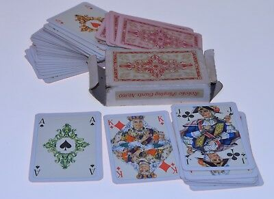 Vintage  Original  GERMANY G.D.R.Playing Cards  ROKOKO  160/Cardboard BOX 70s.