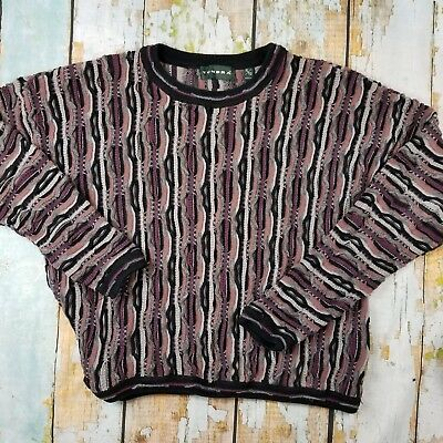 Vintage 90's Tundra Men's size XL crew neck sweater Coogi Style