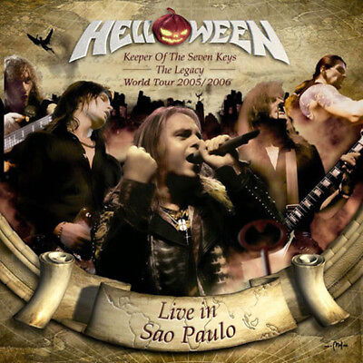 Helloween - Keeper Of The Seven Keys:The Legacy World Tour Live In Sao Paulo 2CD