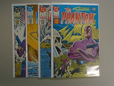 Phantom (1988 DC 1st Series) Set:#1-4, 8.0/VF (1988)