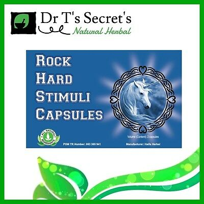 Rock Hard Stimuli Capsules For Erection Ed Libido 100% Herbal Sexual Remedy Sex