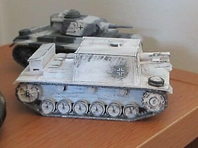 1/72 Painted WW2 German Winter Tanks