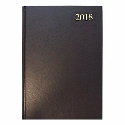 Collins 2018 Essential A5 Day to a Page Diary - Black