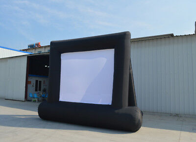 ScreenHome & Yeard Large Inflatable Inflatable 13*10 ft Advertising Screen Movie