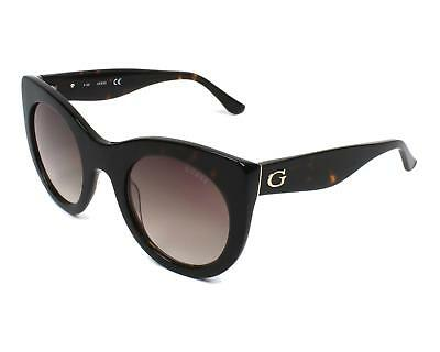 NEW GUESS GF 0266 52F Brown Gold Tortoise Womens SUNGLASSES w// Case Authentic
