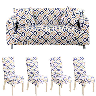 Sofa/Chair Covers Universal 3 Seaters Stretch Protector Couch Cover Slipcover US