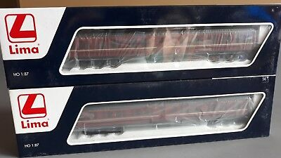 Lima Nswgr Tam Sleepers X 2 12-Wheelers Excellent As New Cond Boxed Ho Gauge(Hd)