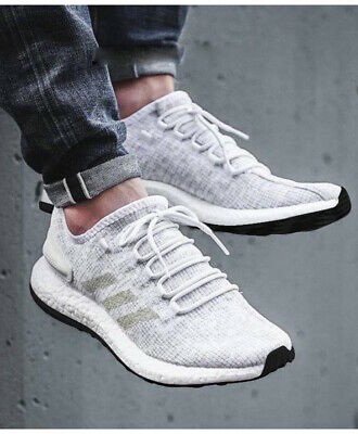 sports shoes 5977a b1a82 Adidas Chaussures de course Sneakers Running Shoes Trainers Blanc PureBOOST