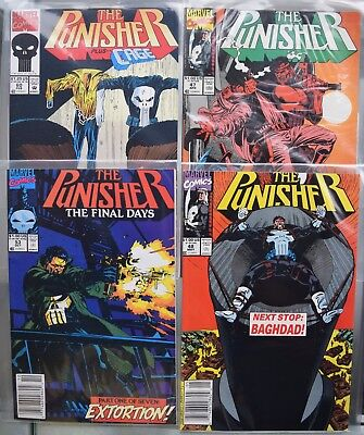 The Punisher vol 1. *4 issues* #47 #48 #53 #60 1991-92
