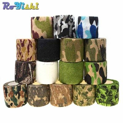1pcs Camo Hunting Camping Hiking Camouflage Stealth Tape Wrap Waterproof