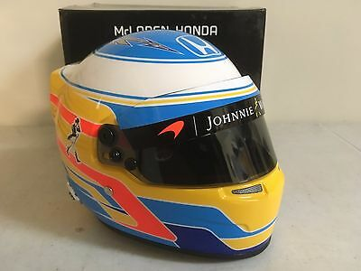Bell Sports Mini Fernando Alonso 2017 McLaren 1/2 scale Helmet