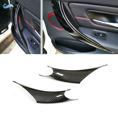 2X Inner Door Handle Panel Pull Protective Cover Trim For BMW 3 4 Series F30 F35
