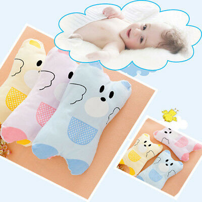 Baby Infant Pillow Anti Flat Head Syndrome for Crib Cot Bed Neck Support Cushion