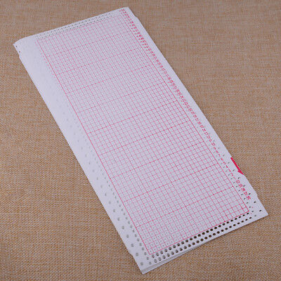 10pcs Blank Punch Card Fit for Brother Singer Knitting Machine KH860 KH890